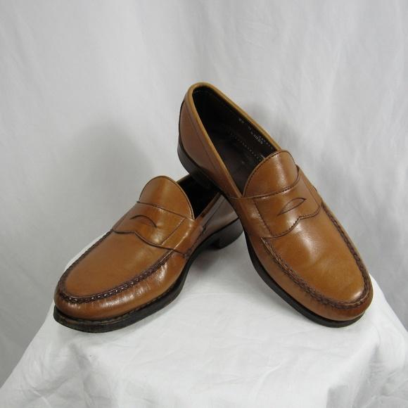 4ed0843a5d8 Allen Edmonds Other - Allen Edmonds Cavanaugh Walnut Loafers 8.5